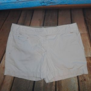 Ann Taylor LOFT Light Khaki Shorts